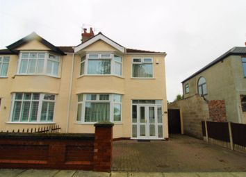 Thumbnail Semi-detached house for sale in Newborough Avenue, Crosby, Liverpool