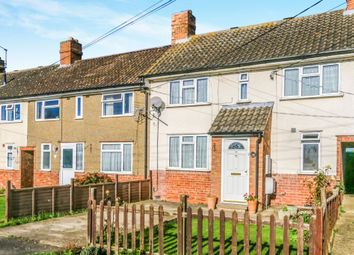 Thumbnail 3 bed terraced house for sale in Harrold Road, Bozeat, Wellingborough