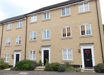 Thumbnail 4 bed terraced house to rent in East Close, Bury St. Edmunds