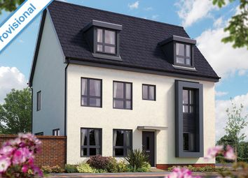 "Thumbnail 4 bedroom detached house for sale in ""The Warwick"" at Limousin Avenue, Whitehouse, Milton Keynes"