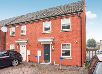Thumbnail 3 bed semi-detached house for sale in Montvale Gardens, Leicester