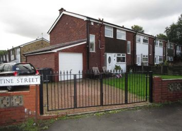 Thumbnail 3 bed town house for sale in Christine Street, Shaw, Oldham