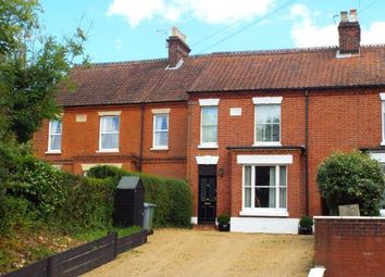 Thumbnail 3 bed terraced house for sale in Wroxham, Norwich, Norfolk