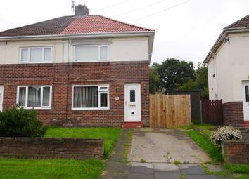 Thumbnail 2 bed semi-detached house for sale in Blagdon Crescent, Nelson Village, Cramlington