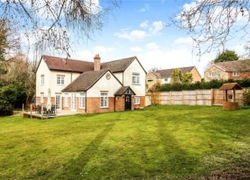 Thumbnail 4 bed detached house for sale in Lavender Lane, Rowledge, Farnham, Surrey