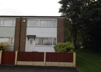 Thumbnail 3 bedroom end terrace house for sale in Crossmoor Drive, Bolton, Greater Manchester