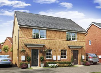 "Thumbnail 3 bedroom semi-detached house for sale in ""Barton"" at Lancaster Avenue, Watton, Thetford"