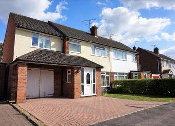 Thumbnail 4 bed semi-detached house for sale in Field Way, Aldershot
