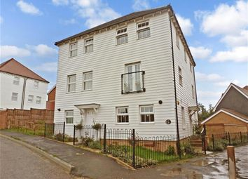 Thumbnail 3 bed semi-detached house for sale in Eveas Drive, Sittingbourne, Kent