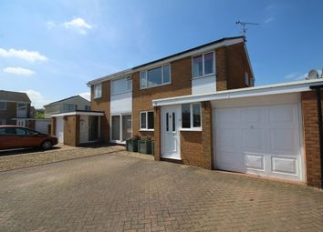Thumbnail 3 bed semi-detached house for sale in Shannon Way, Oakham