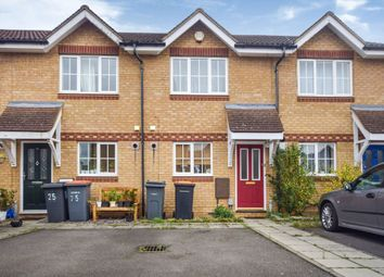 Thumbnail 2 bed terraced house for sale in Dorsey Drive, Elstow, Bedford