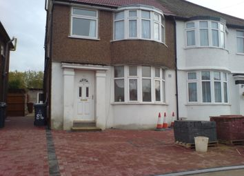 Thumbnail 3 bed duplex to rent in Merlin Crescent, Edgware