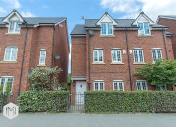 Thumbnail 5 bedroom semi-detached house for sale in Market Street, Radcliffe, Manchester
