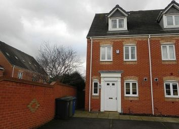 Thumbnail Town house to rent in 1 Perry Close, Tamworth, Staffordshire