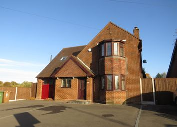 Thumbnail 4 bed detached house for sale in Longwood Lane, Walsall
