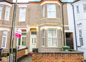 Thumbnail 3 bed terraced house for sale in Manor Road, Rugby