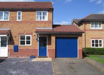 Thumbnail 2 bed semi-detached house to rent in St. Davids Drive, Evesham