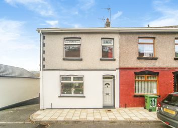 Thumbnail 3 bed end terrace house for sale in Collwyn Street, Tonyrefail, Porth