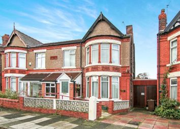 Thumbnail 4 bed semi-detached house for sale in Coronation Drive, Liverpool