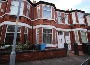 Thumbnail 3 bed terraced house to rent in Cromwell Avenue, Whalley Range
