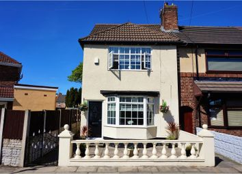 Thumbnail 3 bed end terrace house for sale in Swainson Road, Liverpool