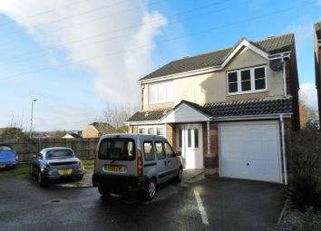 Thumbnail 4 bed detached house to rent in Maes Dewi Pritchard, Bridgend