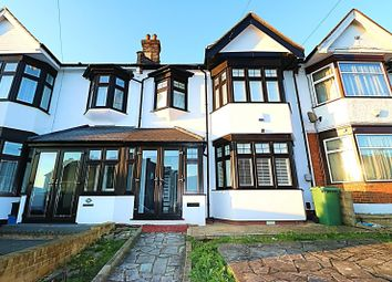 Thumbnail 3 bed terraced house to rent in Highland Gardens, Ilford