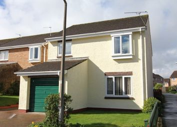 Thumbnail 4 bed detached house for sale in Burnley Close, Newton Abbot