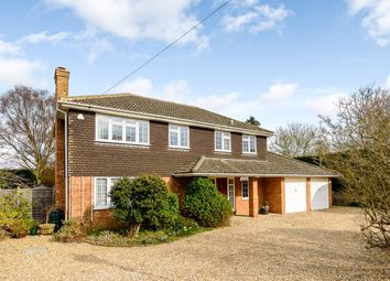 Thumbnail 4 bed detached house to rent in Dippenhall Street, Crondall, Farnham