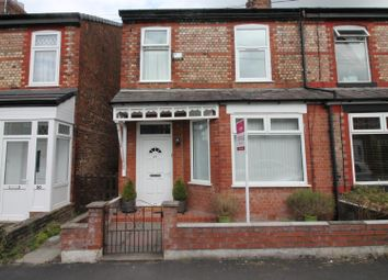 Thumbnail 3 bed semi-detached house for sale in Alderley Road, Urmston, Manchester