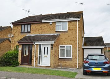 Thumbnail 2 bed semi-detached house for sale in Bouchers Mead, Springfield, Chelmsford, Essex