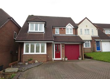 Thumbnail 4 bedroom detached house for sale in Warrilow Heath Road, Waterhayes, Newcastle
