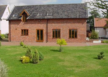 Thumbnail 4 bed barn conversion to rent in Common Road, Shelfanger, Diss