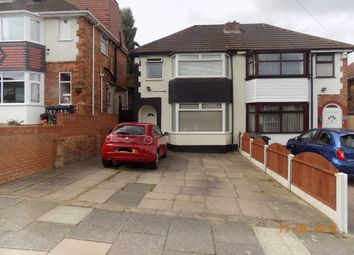 Thumbnail 2 bed semi-detached house to rent in Dovercourt Road, Birmingham