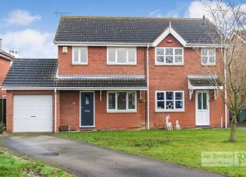 Thumbnail 3 bed semi-detached house for sale in Moore Close, Claypole, Newark