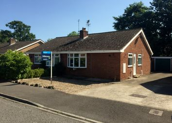 Thumbnail 2 bedroom semi-detached bungalow to rent in St. Marys Close, Wigginton, York