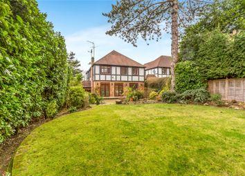 Thumbnail 4 bedroom detached house for sale in Hartsbourne Close, Bushey Heath, Hertfordshire