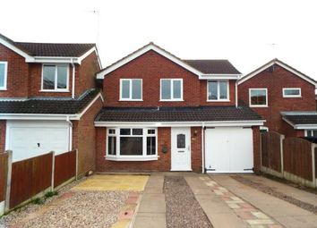 Thumbnail 5 bedroom detached house for sale in Langtree Close, Cannock, Staffordshire