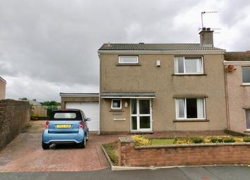 Thumbnail 3 bed semi-detached house for sale in Ashfield Gardens, Workington, Cumbria
