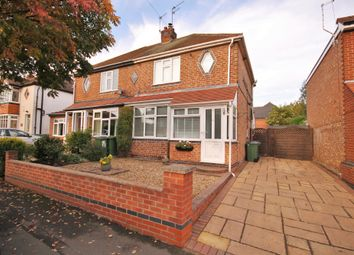 Thumbnail 2 bed semi-detached house for sale in Lime Tree Road, Enderby, Leicester