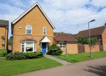 Thumbnail 4 bedroom detached house for sale in Pascal Drive, Medbourne, Milton Keynes