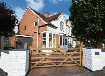 Thumbnail 3 bed semi-detached house for sale in Longmore Road, Shirley, Solihull