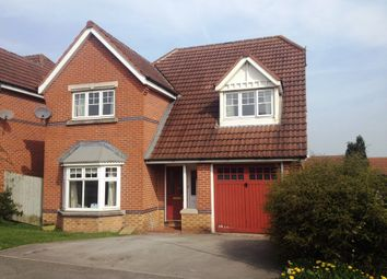 Thumbnail 4 bed detached house to rent in Clover Way, Killinghall, Harrogate