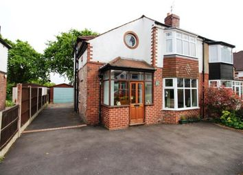 Thumbnail 3 bed semi-detached house for sale in Buckingham Road, Cheadle Hulme, Cheadle, Greater Manchester