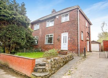 Thumbnail 3 bed semi-detached house to rent in Clarendon Road, Hazel Grove, Stockport