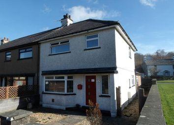 Thumbnail 4 bed semi-detached house for sale in Abercaseg, Bethesda, Bangor, Gwynedd