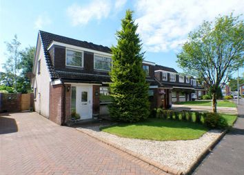 Thumbnail 3 bedroom semi-detached house for sale in Lendal Place, Gardenhall, East Kilbride