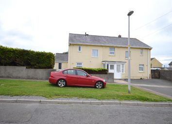 Thumbnail 2 bed semi-detached house for sale in Stranraer Lane, Pennar, Pembroke Dock