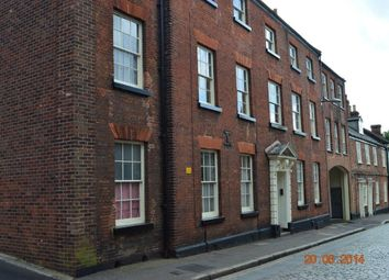 Thumbnail 1 bed flat to rent in Pottergate, Norwich