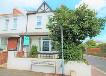Thumbnail 4 bed end terrace house for sale in Collingwood Road, Paignton